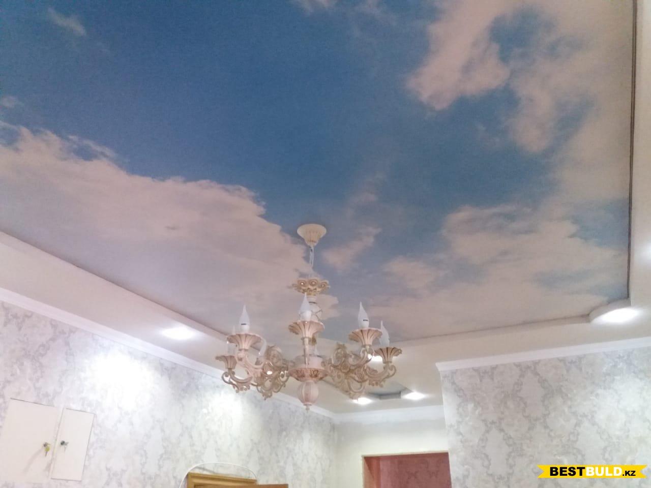 Натяжной потолок (фото работ)