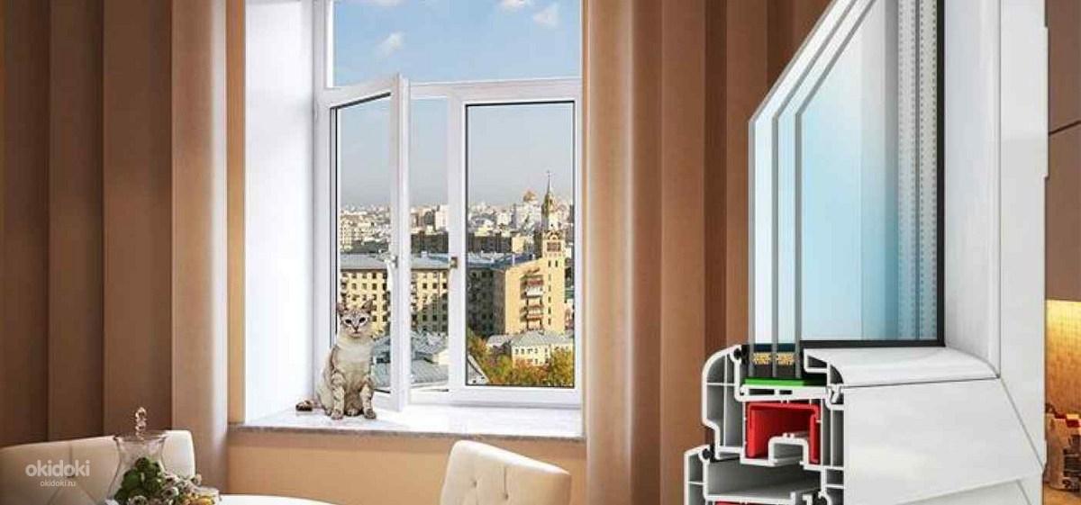 Металопластиковые окна REHAU Brillant-Design