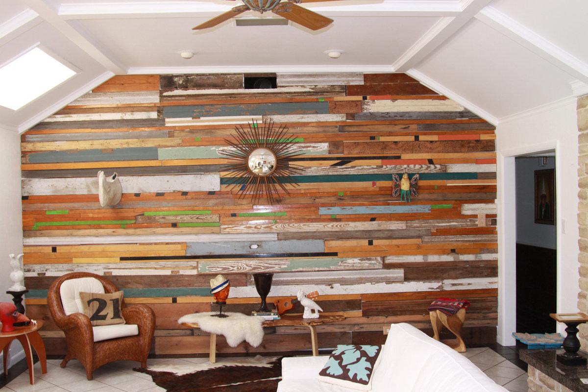 Как обшивать стены древесиной