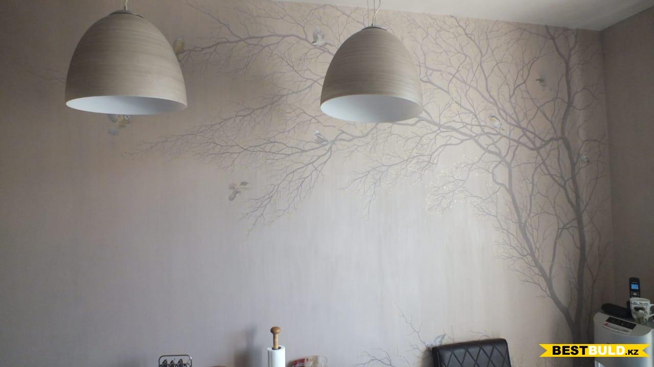 Художественная роспись стен в Алматы
